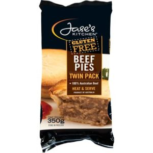Jase's Kitchen Beef Pies Twin Pack