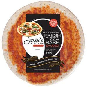 Jase's Kitchen Sauced Pizza Base