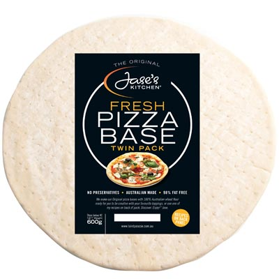 Jase's Kitchen Plain Pizza Base