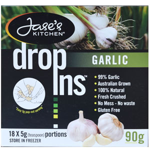 Garlic dropins