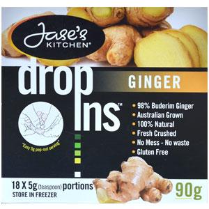 Ginger dropins