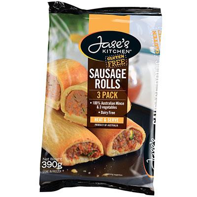 Jase's Kitchen Sausage Rolls